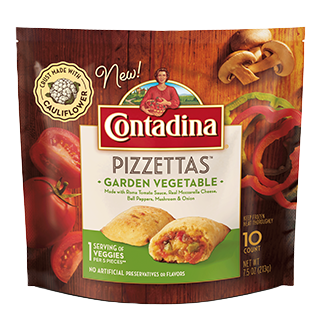 Pizzettas Garden Vegetable Frozen Bites