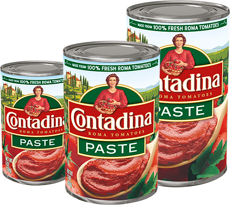 Tomato Paste Cans