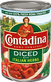 Diced Tomatoes Italian Herbs can