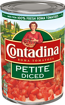 Petite Diced Tomatoes can