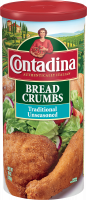 Traditional Unseasoned Bread Crumbs 10oz can