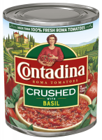 Crushed Tomatoes with Basil 28oz can