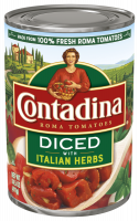 Diced Tomatoes Italian Herbs 14.5oz can