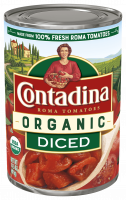 Organic Diced Tomatoes 14.5oz can